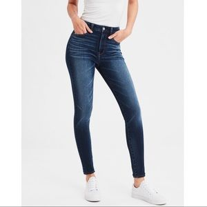 AEO Super Hi Rise Jeggings Skinny Jeans Next Level
